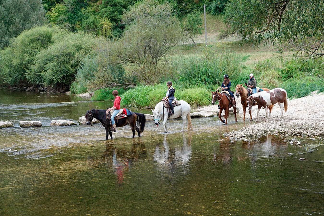 Ruta a caballo