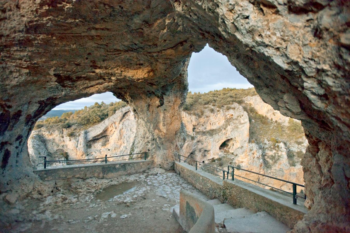 Las vistas desde esta maravilla de la serranía de Cuenca, quedan siempre en el recuerdo